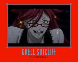 Pretty Grell by Ryuuzaki3137