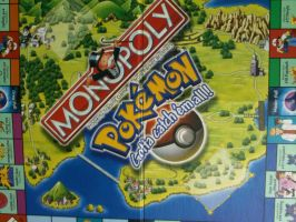 Pokemon Monopoly Board Game by roxastuskiomi