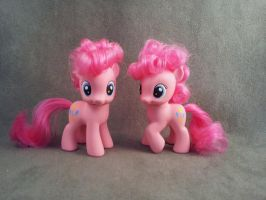 Filly Pinkie Pie - My Little Pony G4 customs by hannaliten