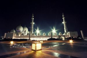 Sheikh Zayed Grand Mosque by ahmedwkhan