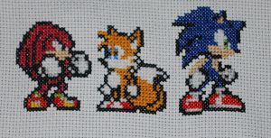 Sonic, Tails and Knuckles by Magairlin89