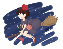 kiki by drawnbykenna