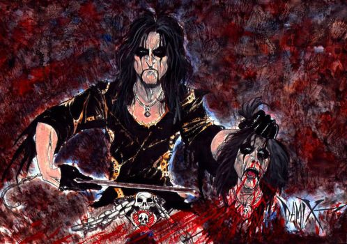 Alice Cooper by DAMIX by DAMIX-ART