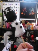 the burnt one is my all-time fav plushie ever by EmplehsADeviant