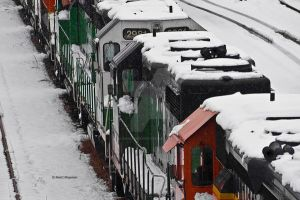 Engines in Snow by mcklingseisen