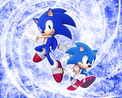 Sonic Generation Wallpaper by NoNamepje