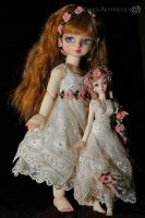 Girl and Doll by Katyok
