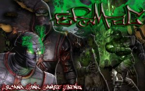 Ermac Screen by ArcanaHunkCamreKaenz