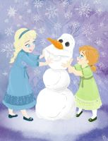 Let's Build a Snowman by CheeryB0mb