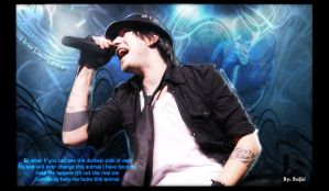 Adam Gontier by Bajbi