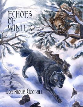 Echoes of Winter Book Cover by WaterSinger
