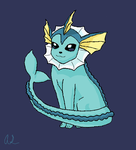 Vaporeon by KantoKnight
