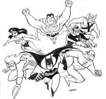 Justice League Cover by LostonWallace