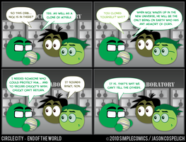CC447 - End of the World 47 by simpleCOMICS