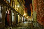 Old Town by Night IX by HenrikSundholm