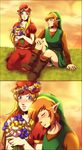 Flower field by Queen-Zelda
