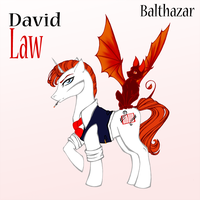 Azazel`s Blood in MLP Style (Dave and Basti) by HechiceraRip