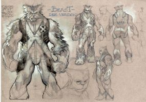 BEAST: REDESIGN DEF. VERS. by simonebianchi