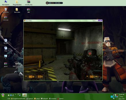 Black Mesa Source bloody M16 by Remotary98