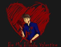 Be my Bloody Valentine by 16AngelWing16