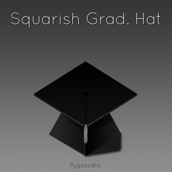 Squarish Grad. Hat by pygoscelis