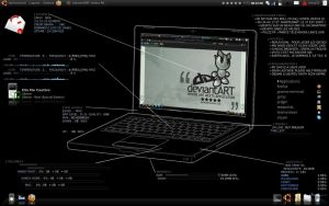 My New Theme in Ubuntu LTS by omay32
