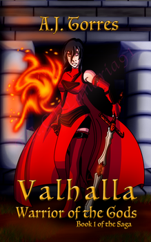 Valhalla Saga Book 1 Warrior of the Gods New Cover by TaCDLunaria91