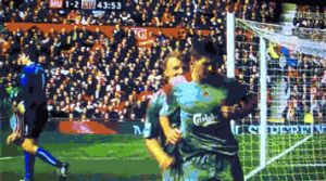Steven Gerrard GOOAL by heatherlump