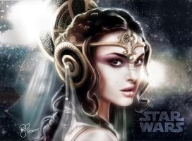 Queen Amidala by P-F-Finnan