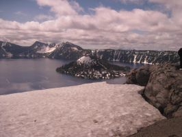 Crater Lake by BarkingLizards