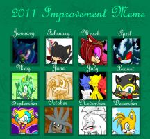 2011 Improvement Meme by Fantailed-Hedgehog