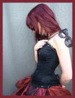 Red And Black 1 by Lisajen-stock