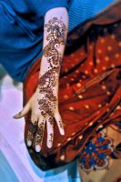 Henna: dots and flowers by cydienne