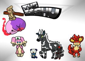 The ISSHU cover page by matachu