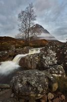 Mist on Stob Dearg by Waylandscape