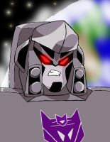 TF:A Megatron by DeviantDolphinART