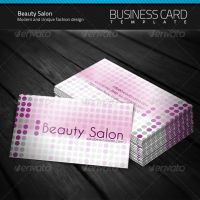 Beauty Salon Business Card by artnook