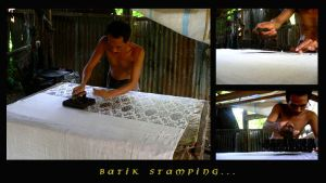 Batik Stamping by indonesia