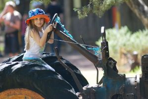 Tractor ride 1 by stockmichelle