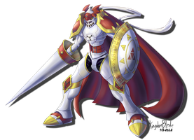 Gallantmon by KingdomBlade