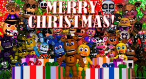 FNAF World XMAS TEASER by Shadcatgame