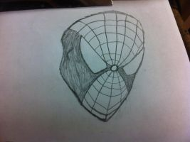 Spidey Mask Redesign Idea by ComicBookGoth