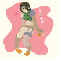 Yuffie Float by PeopleEveryday