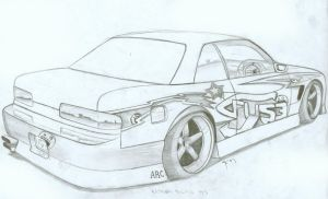 Nissan Silvia S13 by FuseEST