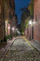 Acorn Street at Night-DSCF4079 by detphoto