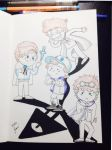 The Three of Dipper Pines by 6anako