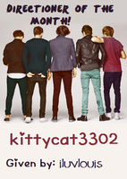 Directioner of the Month: kittycat3302 by iluvlouis