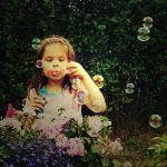 Bubble girl. by magnesina
