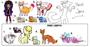 Leftover adoptable batch 3 by PlaguePuppet