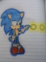 Younger Sonic by DarkVictini